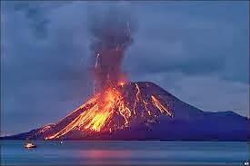 Volcán Etna en erupción 25 de Enero 2014