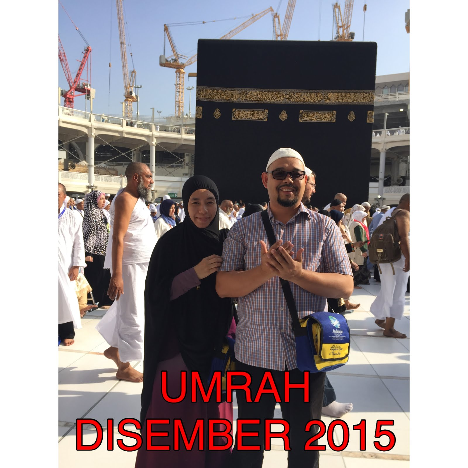 UMRAH DISEMBER 2015