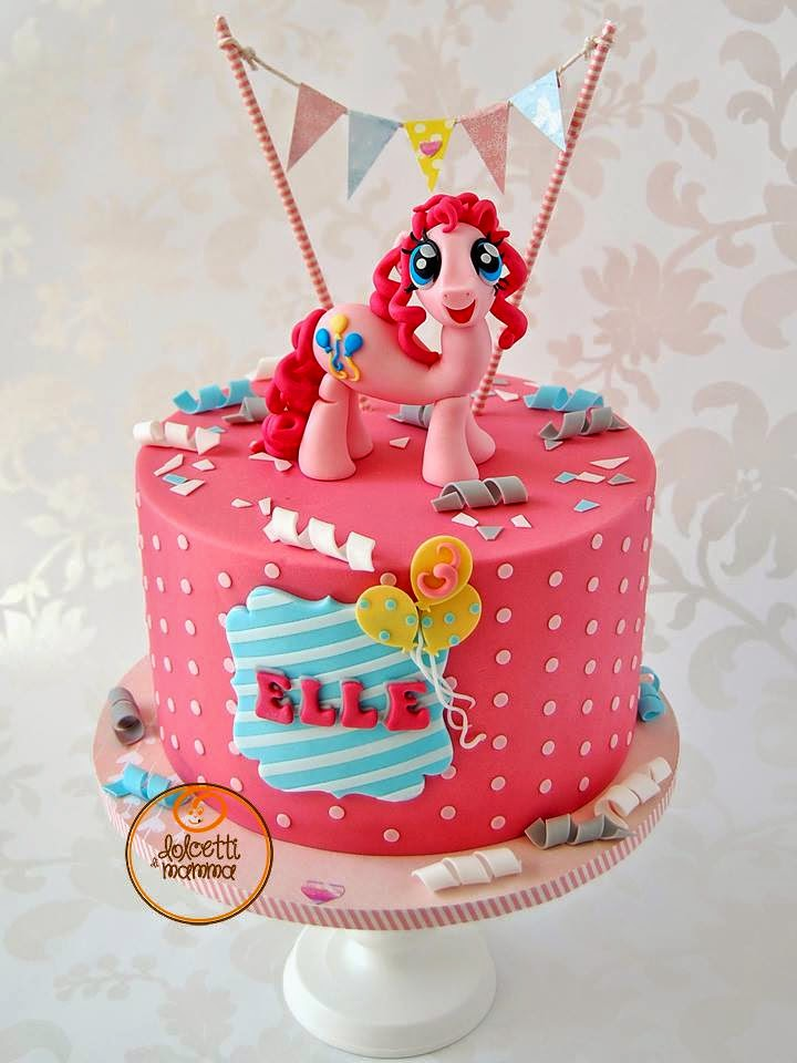 Pinkie Pie Cake By Dolcetti Di Mamma