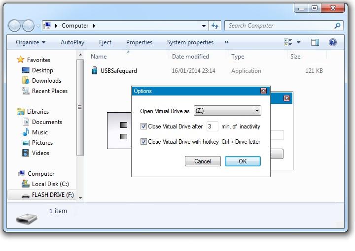 Lindungi Dokumen Rahasia Flash Disk Anda dengan USB Safeguard!