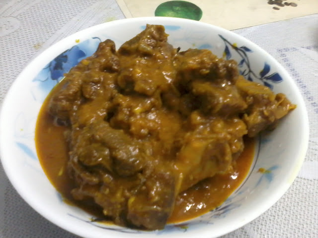 Sunday Special - Mutton Curry
