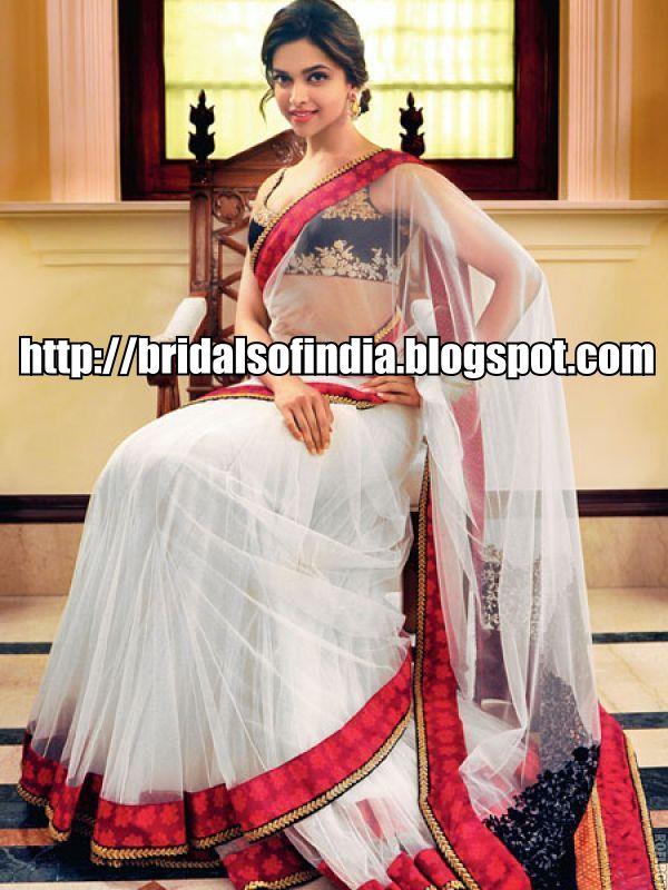 Fashion world: Deepika Padukone in sabyasachi designer saree