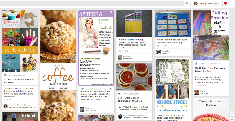 Pinterest tips for bloggers: Create vertical pin images for your blog posts from And Next Comes L