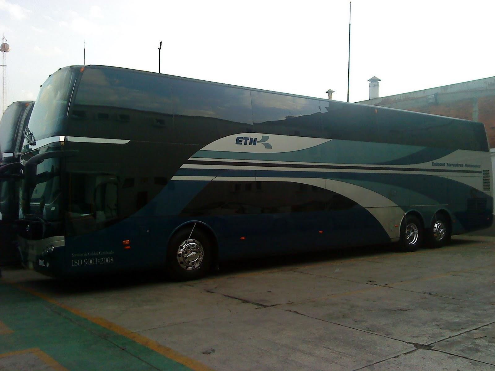 La nueva guia del viajero en mexico autobuses de dos pisos en etn - Autobuses de dos pisos ...