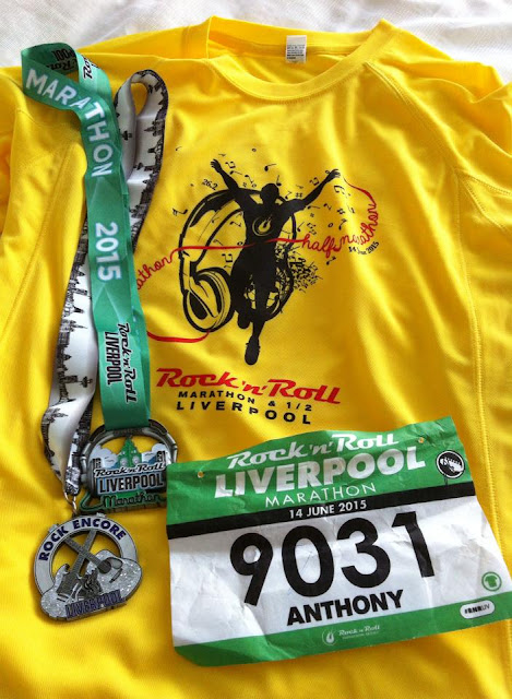 Rock 'n' Roll Liverpool Marathon 2015 - Anthony Clarke
