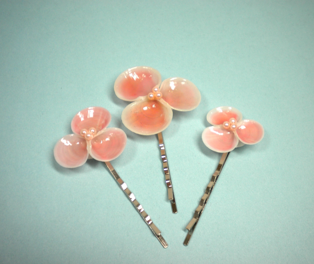 Dels Shells In The Pink Seashell Hair Accessories