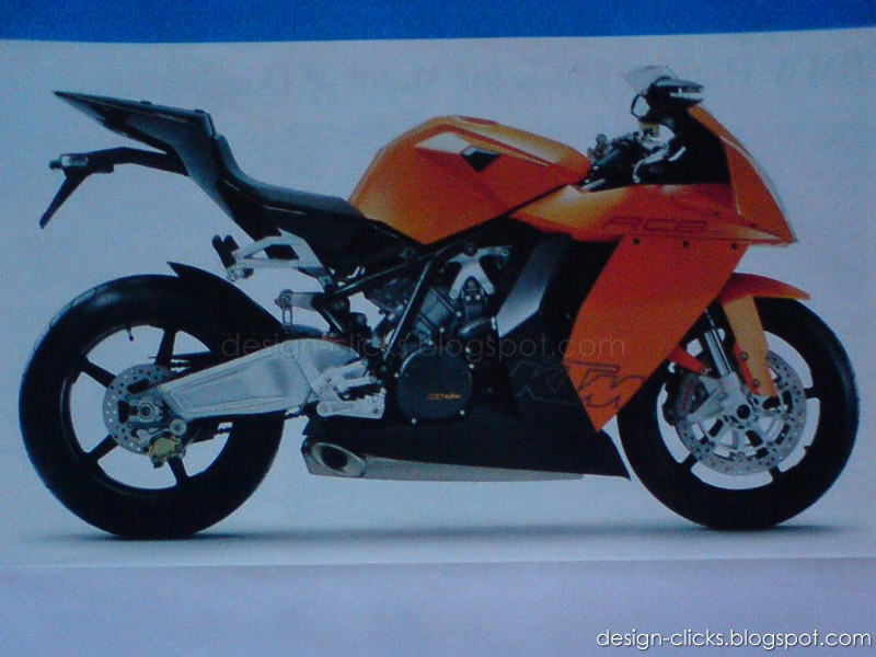 Bike sketch ktm rc8 1190 designs sketches for Decoration ktm