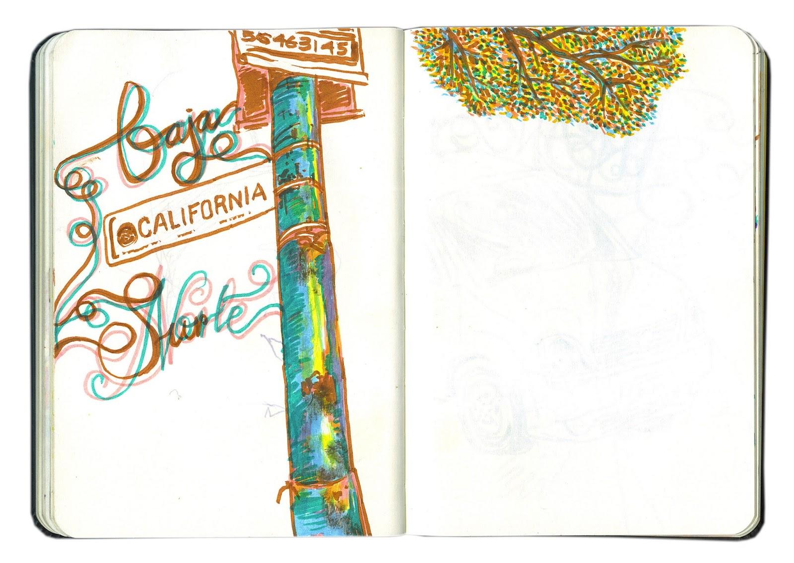 Arturo Aguilar Ilustrador Libreta de apuntes 2010