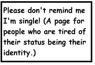 Don't Remind Me I'm Single!
