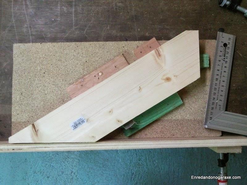 Plantilla soporte para fresados en mesa fresadora. Enredandonogaraxe.com