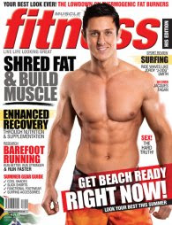 Latest Writing: Cover story for Men&#39;s Fitness Nov/Dec