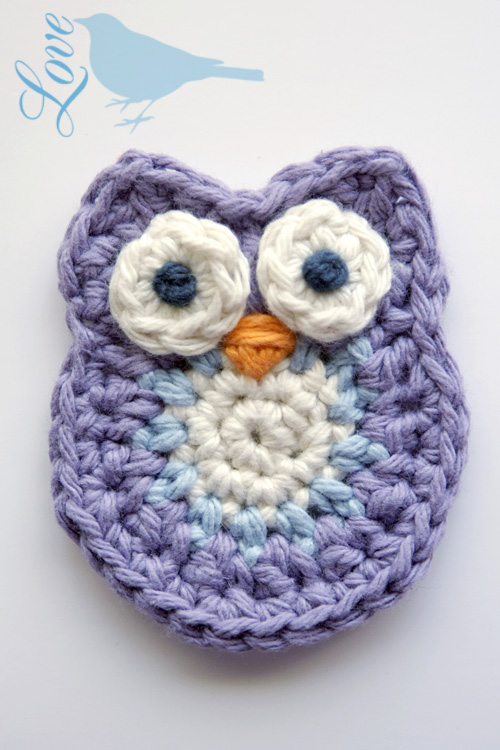 Free Crochet Pattern Small Owl : Love The Blue Bird: Crochet Owl Pattern...