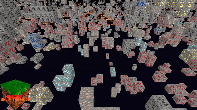 X-Ray Mod Minecraft Minerales
