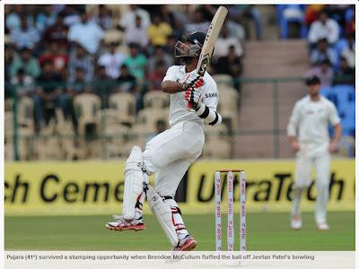 Ind-v-NZ-2nd-Test-Pujara
