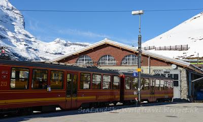 Jungfrau, 少女峰, 火車, train