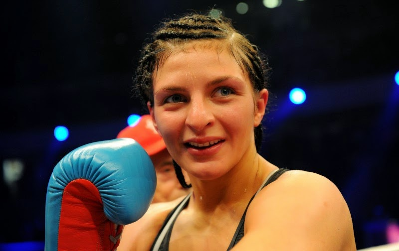 Christina Hammer vs Anne Sophie Mathis fight replay