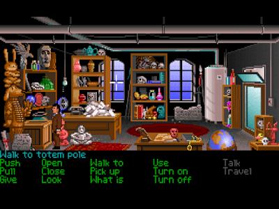 Huevo de pascua Indiana Jones totem Sam & Max