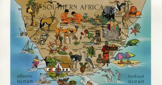 South africa attractions map – Tourist Attractions Map In South Africa