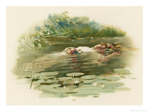 Ophelia Drowns and Dies