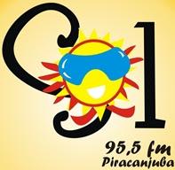 ouvir a Rádio Sol FM 95,5 Piracanjuba