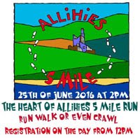 5 mile race in West Cork...Sat 25th June