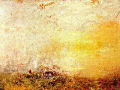 Albada amb monstres marins (Joseph Mallord William Turner)