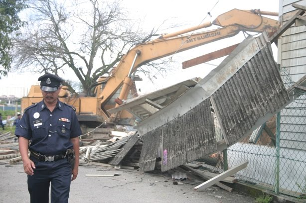 Surau Kampung Baru Kanthan Lama dirobohkan