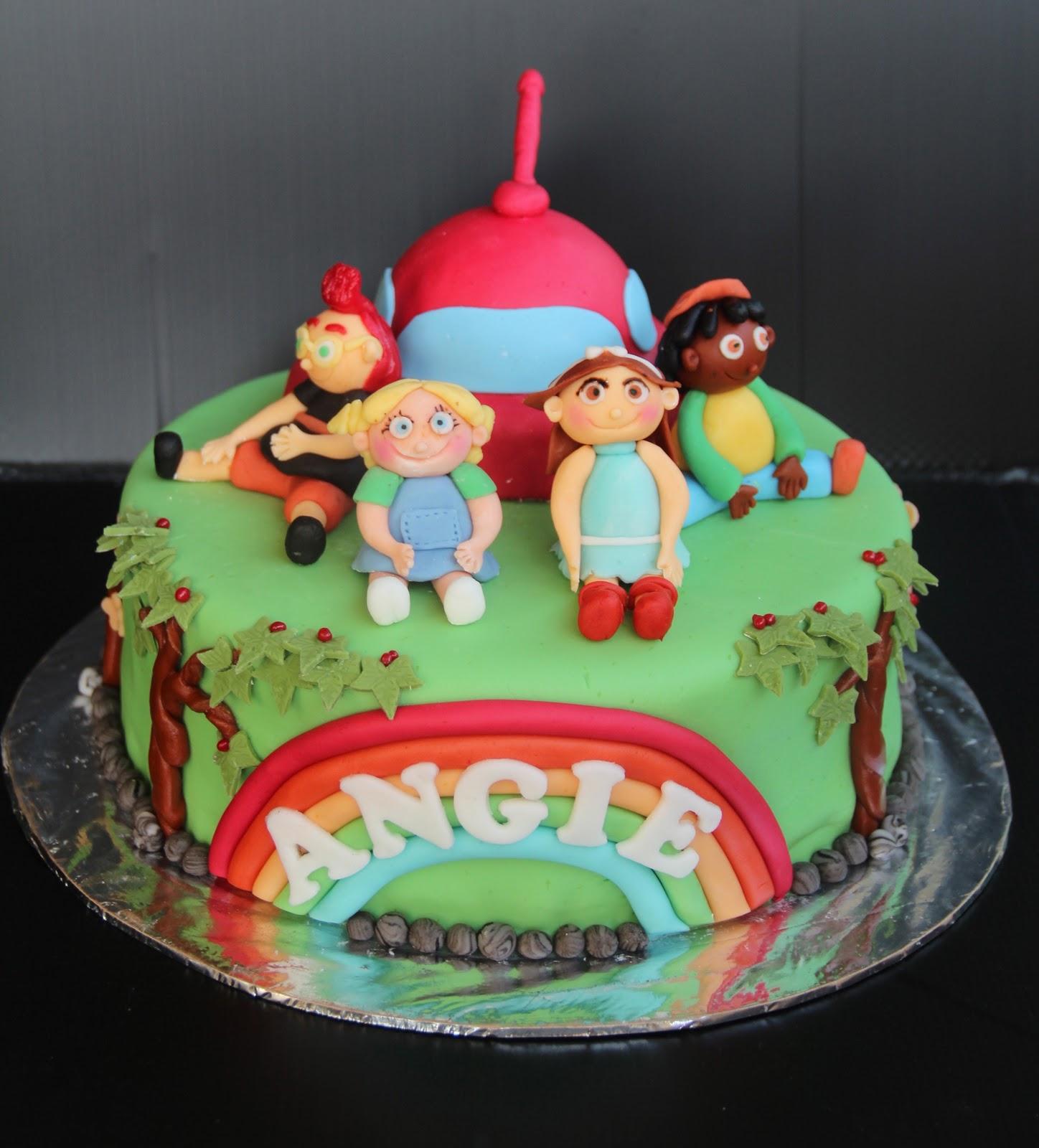 Emas Creation Little Einstein Cake Theme