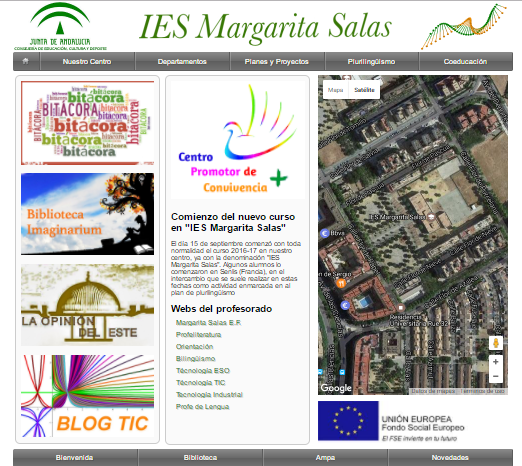 WEB IES MARGARITA SALAS