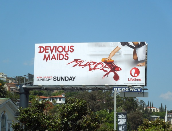 Devious Maids series premiere billboard