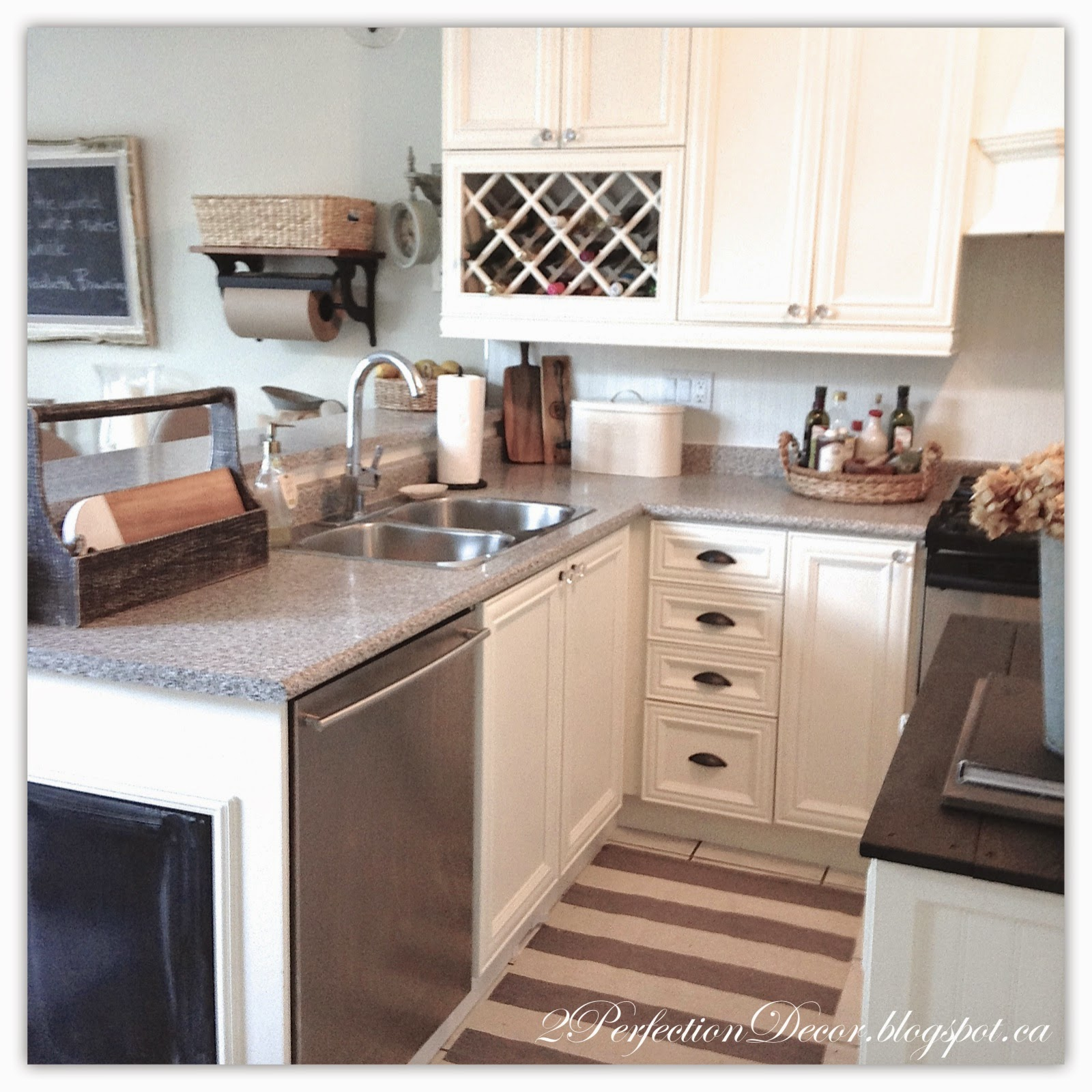 Painted French Country Kitchen Reveal