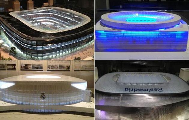Cuatro espectaculares proyectos para el nuevo Santiago Bernabéu