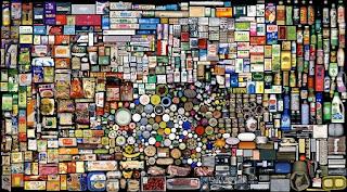 Mosaicos con Objetos Reutilizados, Arte y Reutilización