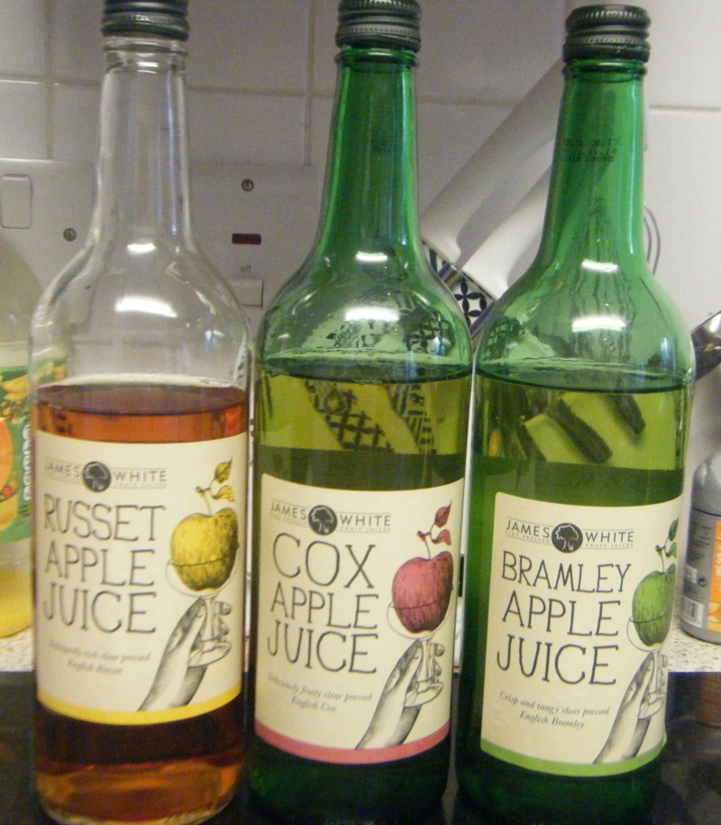 james white classic apple juices - review