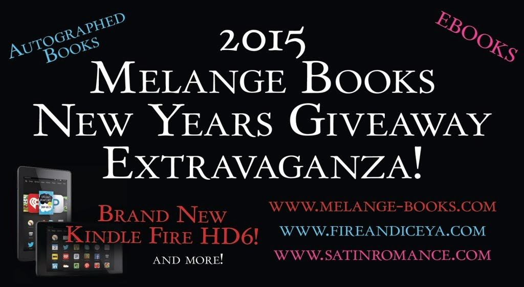 Melange Books New Years Extravaganza