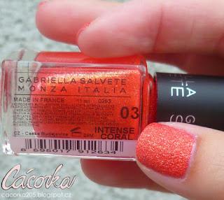 Gabriella Salvete - Intense Coral