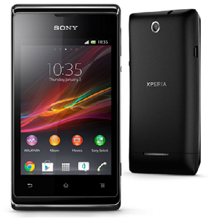 Sony+Xperia+E+C1505+Spesifikasi+Harga Harga Sony Xperia E C1505 Baru dan Bekas Agustus 2013