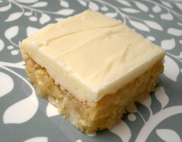 RACHAEL'S FAVORITE RECIPES: CREAM CHEESE FROSTED WHITE BROWNIES