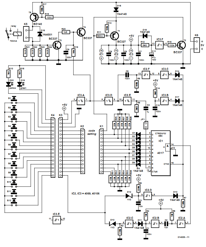 nte electronics circuit  november 2012
