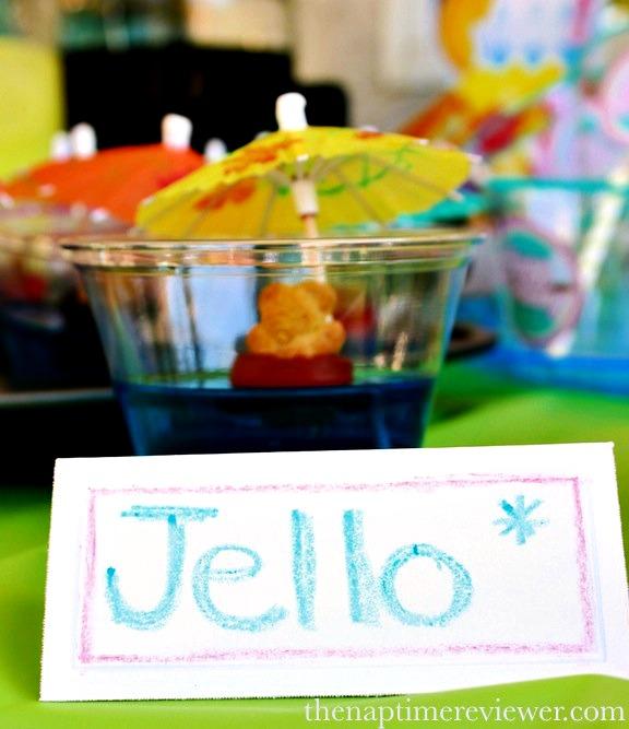 jello swimming pool cups