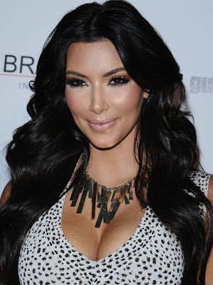 Kim Kardashian Bronze Statement Necklace