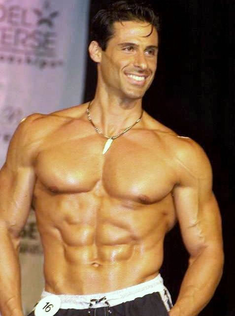 Male Fitness Model Workout Of male fitness models
