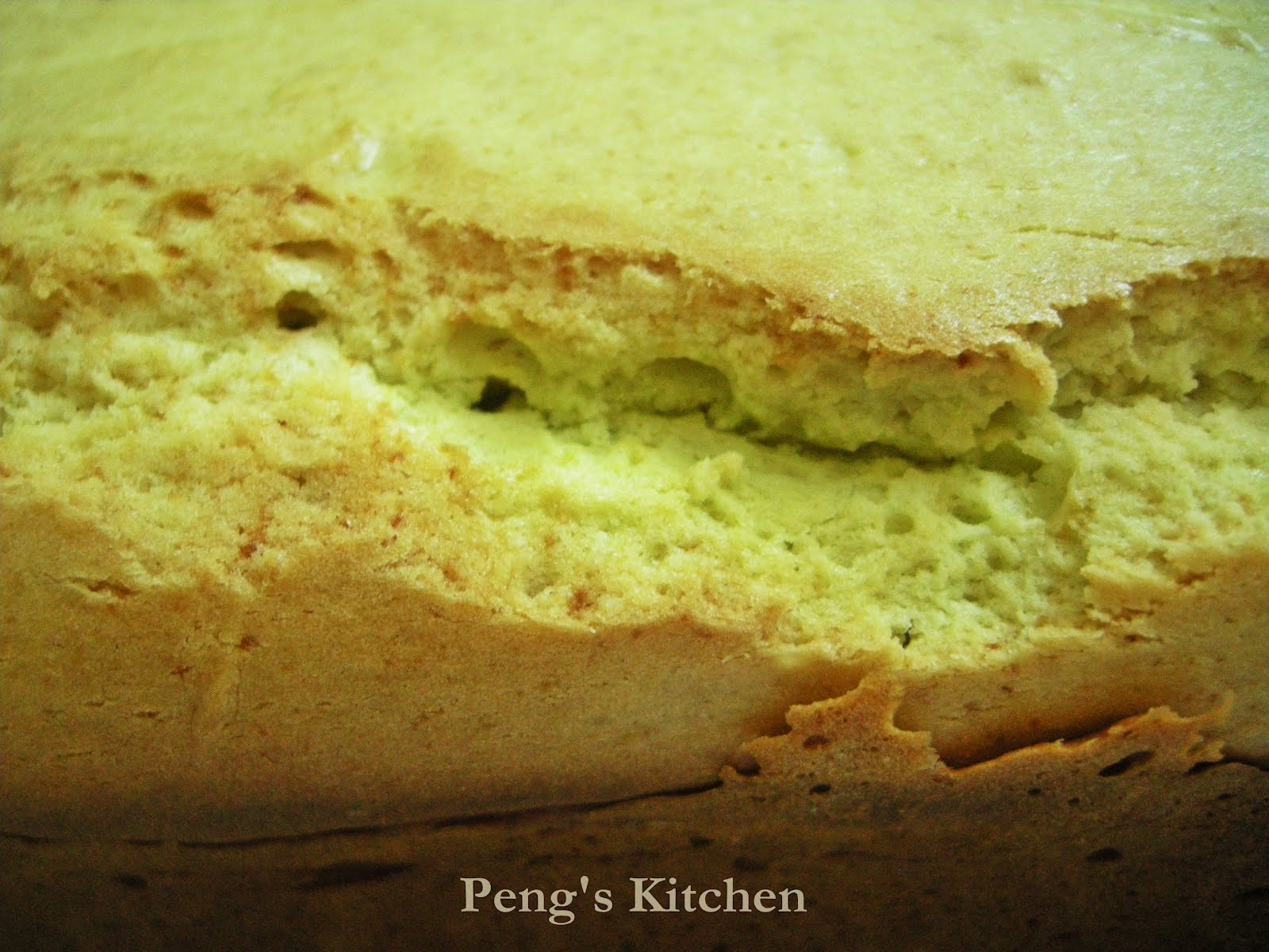 Peng's Kitchen: Avocado Milk Pound Cake