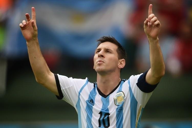 Messi ( Argentina)