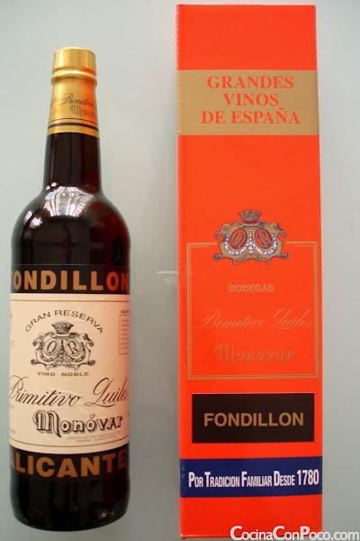 Fondillon - Vinos de Alicante - Bodegas Primitivo Quiles