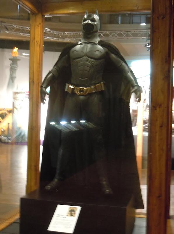 Batman Begins costume exhibit