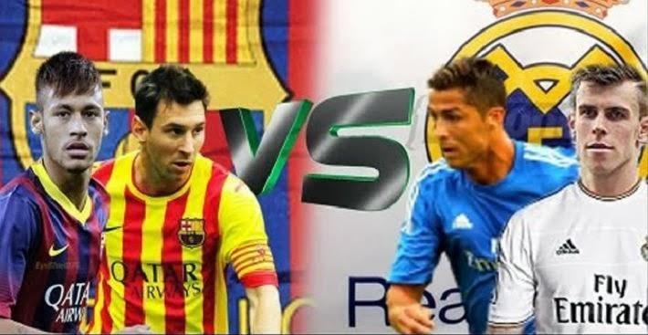 El Clasico Barcelona vs Real Madrid October 27 2013
