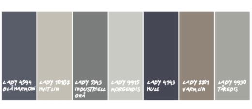 Tåkedis fargekode