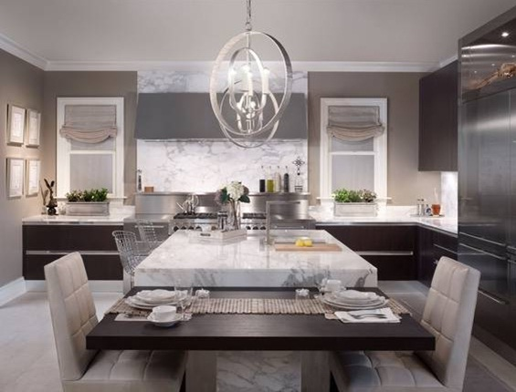 Kitchen At DreamHome 2011 By Shawna Dillon Of Snaidero Kitchens + Design ( Chicago) | BRADLEY | Esprit De Corps