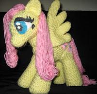 Pequeno Pony Amigurumi Patron : PATRON GRATIS FLUTTERSHY (MI PEQUEnO PONY) AMIGURUMI ...